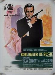 From Russia With Love - Connery / James Bond 007 - Original French Movie Poster