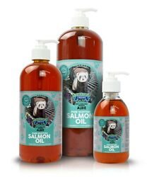 Salmon Oil 100 Pure For Dogs Cats High In Omega 3 With Pump Fresh Pet