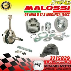Set Modification Vespa 50 Special 130 Cylinder Unit Heated Malossi Aluminum 57,5