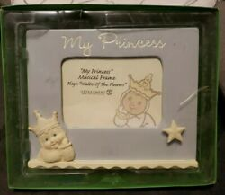 Dept 56 My Princess Musical Photo Frame 4x6 Waltz Of The Flowers Magical