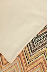 1794 Rare Missoni Janet Queen Duvet Set 2 King Shams Embroidered Italy