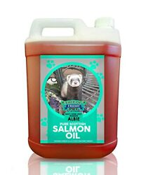 Salmon Oil Pure Fish Oil For Dogs Cats Fresh Pet Karp Bait 5l Jerry With Pump