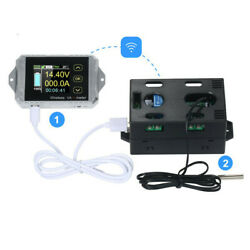 Wireless Dc Coulomb Counter Digital Ammeter Direct Volt Amp Meter Capacity