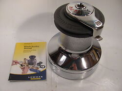 Lewmar 49065001 65st Chr Deck Winch Self Tailing 2 Speed Lew49065001