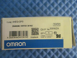 Nos Omron Enabling Switch Device A4eg-op3
