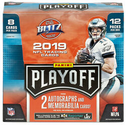 2019 Panini Playoff Football Card Insert And Parallel Singles