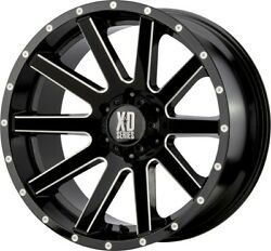 20 Inch Gloss Black Wheels Rims Xd Series Heist Xd818 Xd81821068324n 6 Lug 6x5.5