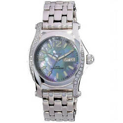 Reactor Women's Curie Watch Mother Of Pearl Dial Stainless Steel Bracelet 90917