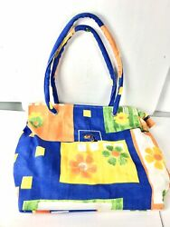 Puerto Vallarta Colorful Flower Print Tote Bag For All Your Beach Essentials $17.99