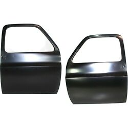 Door Shell For 79-86 Gmc C1500 Set Of 2 Front Driver And Passenger Side