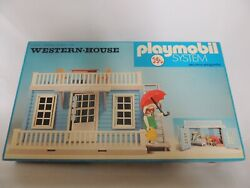 Playmobil - Western House - Trol - Made In Brazil And03970 - Complete