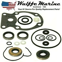 Gearcase Lower Unit Seal Kit For Johnson Evinrude 20 25 30 35 Hp 396351 18-2658