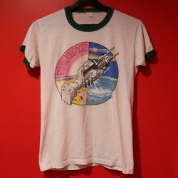 Vintage 1975 Pink Floyd Wish You Were Here Tour Tee