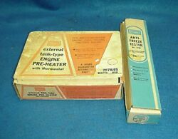 Vintage Sears Engine Block Heater And Antifreeze Tester Man Cave