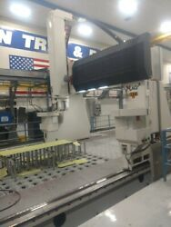 Mag High Speed Gantry Skin Trim And Drill System With CNA Pogo System