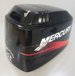 828353t7 Mercury 1994-2010 Hood Engine Cover Cowling 65 Jet 75 90 Hp 3 Cyl