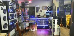 Fully set up and functional Vintage audio & music instrument store in Memphis.