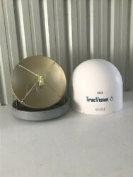 Kvh 24 Hp Dummy Dome - For Tracvision 500 6 G6 Tv6 M7 Satellite Tv Antennas
