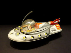 All Original ATC Space Patrol Car Radio Operator Friction Japan 1960 Space Toy