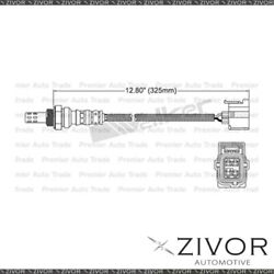 Pre-cat Oxygen Sensor Right For Jeep Grand Cherokee 5.7 Ezb 8 Cyl By Zivor