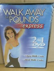 NEW Walk Away the Pounds Express 2 in 1 - Easy Walk 1 Mile + Brisk Walk 2 Miles