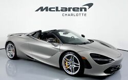 2020 McLaren 720S Spider Performance 2020 McLaren 720S Spider Blade Silver with 378 Miles available now!
