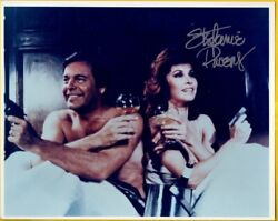 P-stephanie Powers Autograph Color Photo From Hart To Hart With Coa