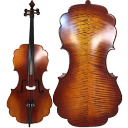 Barouqe Style Song Brand Profession Maestro Cello 4/4powerful Sound 15007