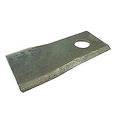 Kuhn Mower Blade Lh And Rh 126mm X 48mm X 4mm Hole Size 20.5x23mm Tractor Mounted