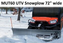 Clearance Snow Plow Snowdogg Mut60 Reliable And Strong Perfect For Utvand039s