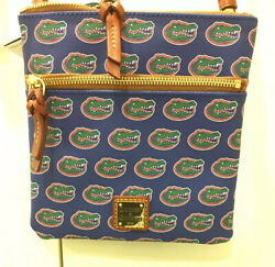 DOONEY AND BOURKE FLORIDA GATORS DOUBLE ZIP CROSSBODY FOR WOMEN NWT $69.99
