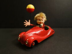 All Original SCHUCO Sonny Peter Mechanical Car Mint Condition 1950 Germany