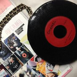 CHANEL A / B side record bag F / S used From Japan
