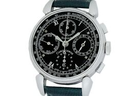 Auth Chronoswiss Classic Chronograph Ch7443 Ss Auto Menand039s Watcha51527