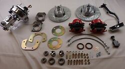 1967 1968 1969 1970 Ford Mustang Power Front Disc Brake Conversion Chrome Master
