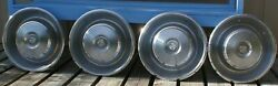 1960s Cadillac Deville Series 62 Fleetwood 15 Wheel Covers Hubcaps Set Of 4 Jt