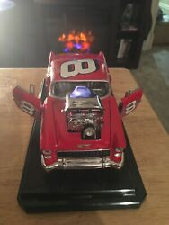 Red 1955 Chevy 8 Dale Earnhardt Jr. Special Edition...with 5+5=10 Red Seal 2