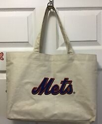 New York Mets And Bandg Canvas Tote Bag.