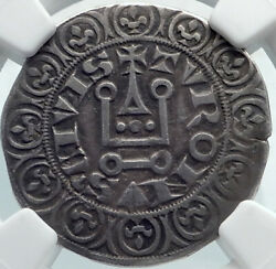 France Royal King Philip V The Tall Antique Silve Gros Tournois Coin Ngc I81865