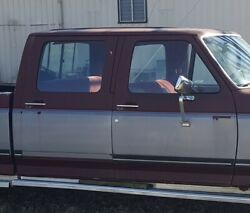 Ford Crew Cab Truck Doors - Late 80's/early 90's   All Four Doors
