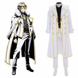 Anime Divine Gate Arthur Cosplay Costume Mens Outfit Suits Adult Custom Madecaz