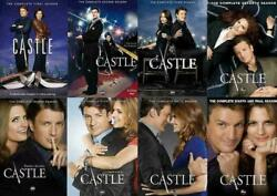 Castle The Complete Series On Dvd Seasons 1-8 - Season 1 2 3 4 5 6 7 And 8