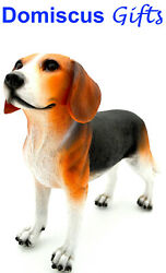 7 1 2quot; NEW Standing BEAGLE Dog HOUND Pet Statue COLLECTIBLE Figurine Home Decor