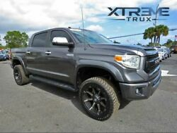 Extended Fender Flares For 14-21 Tundra Paintable Black Smooth Bolt On Set 4