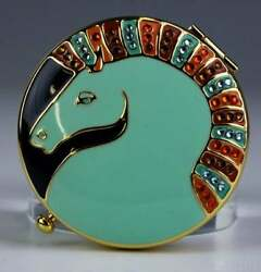 Estee Lauder Jay Strongwater Horse Powder Compacts