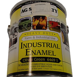 6469 1 Ideal Gallon For Oliver Meadow Green Enamel Paint Industrial Equipment