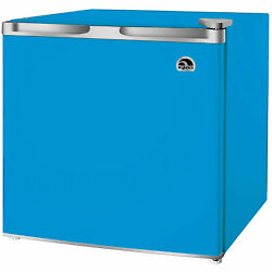 Igloo 1.7 Cubic Foot Compact Mini Bar Office Dorm Refrigerator Freezer Blue