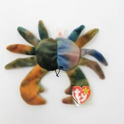 Rare 1996 Claude The Crab Ty Beanie Baby Must See Style 4083
