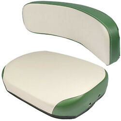 Tractor Seat And Backrest Fits Oliver 1800 1900 White