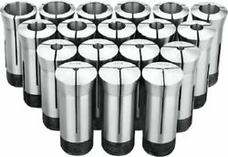 1/16 To 1-1/16 By 32nds 33 Piece 5c Collet Set 3900-0014